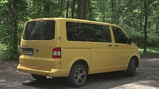 Volkswagen Transporter T5 - минивэн, который может все.