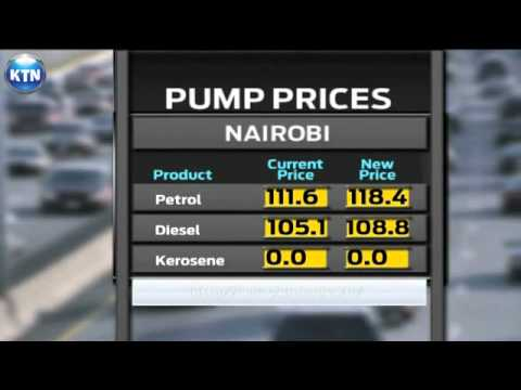 Fuel pump price increase