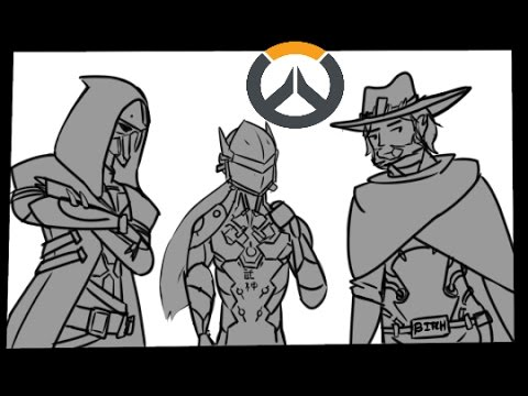 Overwatch comic dub: Widows Kiss ft: SeigiVA,CaptianSpazz,Dijit,Hamlet,Dangerrzone & Somniatica