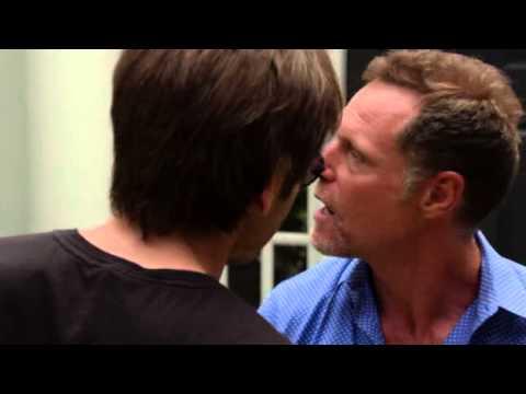 Bates Kisses Hank