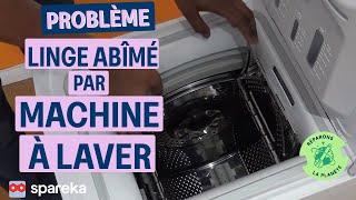 Linge Abimé Machine à laver