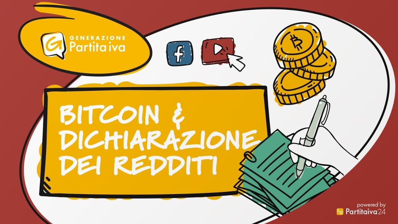 Bitcoin e dichiarazione dei redditi: la tassazione
