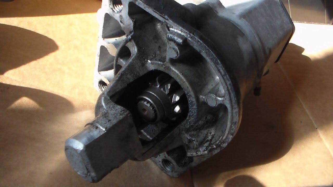 How To Remove The Starter 2005 Dodge Grand Caravan Part 2