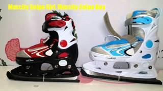 Обзор раздвижных коньков Maxcity Snipe Girl и Maxcity Snipe Boy / Review ice skates