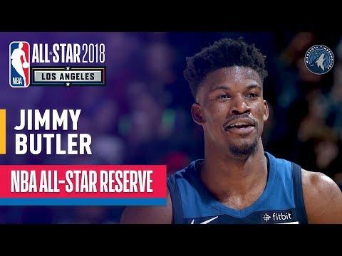 Jimmy Butler All-Star Reserve | Best Highlights 2017-2018