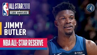 Jimmy Butler All-Star Reserve | Best Highlights 2017-2018