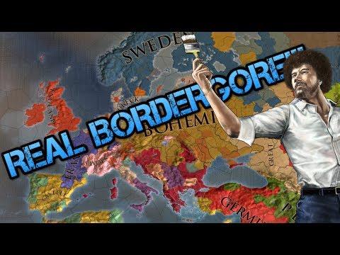 THE REAL BORDER GORE: Europa Universalis IV!