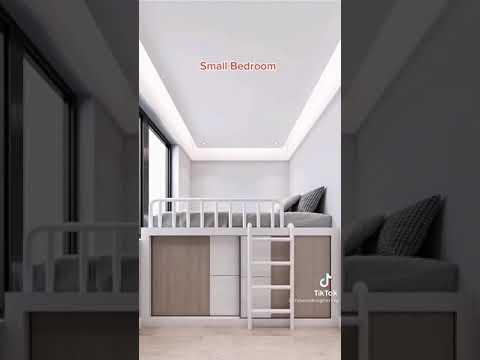 mẫu phòng ngủ diện tích nhỏ