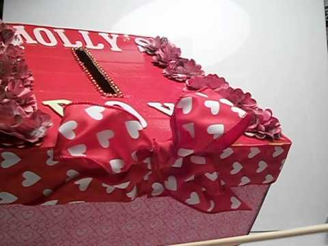 Molly S Valentines Day Box For School Diy Youtube