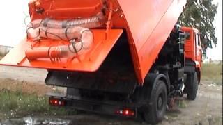 Вакуумна підмітально-прибиральна машина КО-318. АТ ''Кургандормаш''