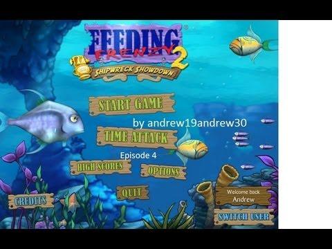 Feeding Frenzy 2 Walkthrough Episode 4:  The Intruder Fish is Seen!