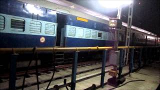 Indian Railways: Train announcement Tiruchirappalli Junction. Tamil, Hindi and English