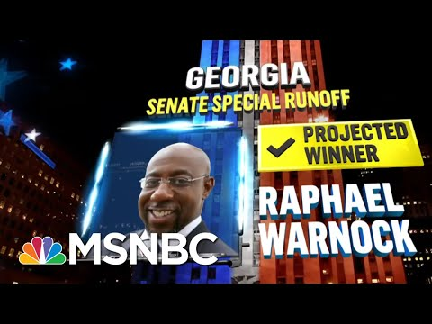 Warnock Wins Georgia Senate Election, NBC News Projects | MSNBC
