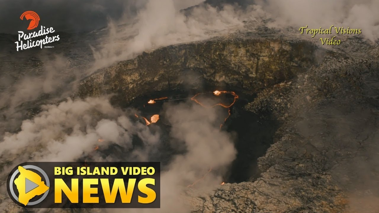 Hawaii Dumped 1 5 Billion Gallons Of Lava Into Pacific As