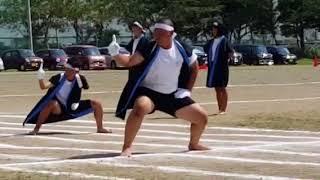 岩根西中体育祭 白組応援