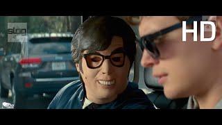 Baby Driver ( Tam Gaz )  Zırhlı Araç Soygunu ve Kaçış Sahnesi...