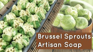 I Used Russian Piping Tips for Soap Frosting - Brussel Sprouts Soap | Royalty Soaps
