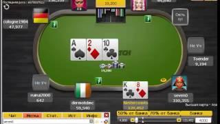 24 (призовое) место в турнире по онлайн покеру на parimatch poker