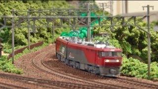 Nゲージ・鉄道模型 KATO EH500 タキ1000貨物列車