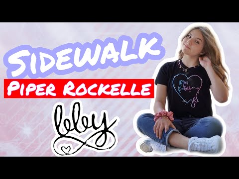 Piper Rockelle - Sidewalk (Official Music Audio) **FIRST LOVE**💕