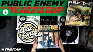 "Discover Samples Used On Public Enemy's ""It Takes A Nation of Millions To Hold Us Back"" #WaxOnly"