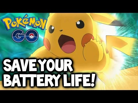"Pokemon GO ★ ""How to save Battery Life"" in Pokemon GO! ★ Battery Life Tips & Tricks Tutorial Guide!"