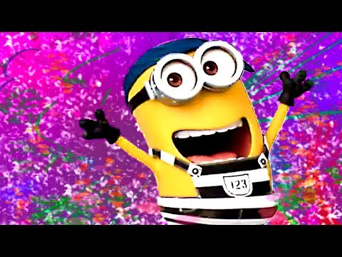 "MINIONS Party Hard ""ROOBA ROOBA"" [Music + Lyrics Video]"