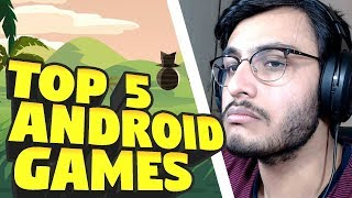 TOP 5 ANDROID ACTION GAMES | RAWKNEE