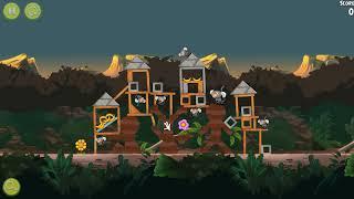 """🐓🕊🦅🐦 Angry Birds Rio. Эпизоды """"Побег из Джунглей"""" (""""Jungle Escape""""). Прохождение."""