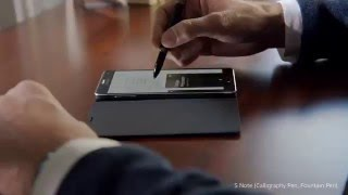 Montblanc meets Samsung GALAXY Note 4