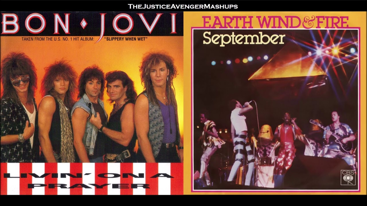 Bon Jovi VS Earth, Wind & Fire - Livin' In September (Mashup)