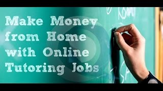 Online Tutoring Jobs - How To Earn Extra Income As An Online Tutor |  Teaching Jobs Online