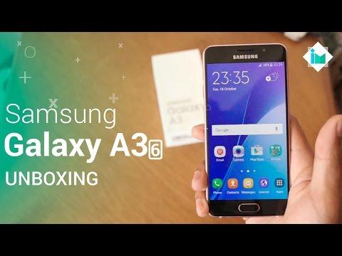 Samsung Galaxy A3 2016 - Unboxing en español