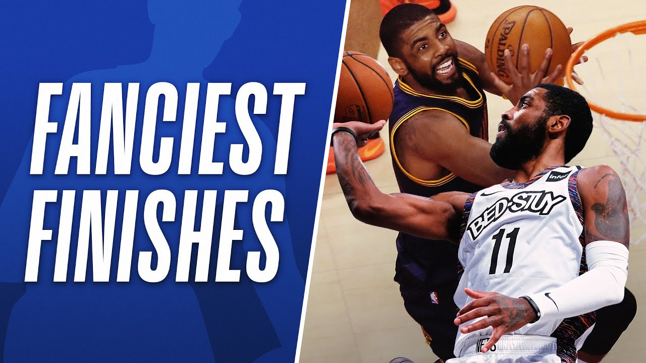 Kyrie Irving's BEST Career Finishes | #NBABDAY