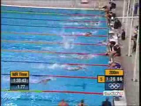 Men's 4 x 100m Freestyle Relay Sydney Olympics 2000