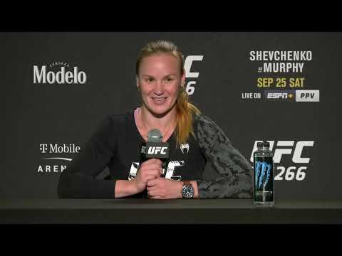 Valentina Shevchenko Doesn't See Lauren Murphy Surprising Her | UFC 266