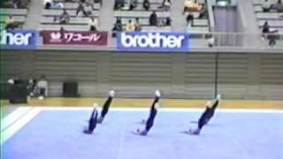1990年AllJapanでの演技です。決勝だけピアノ生伴奏だと思いましたが、動画を改めてみると予選も生伴奏だったように思えます。