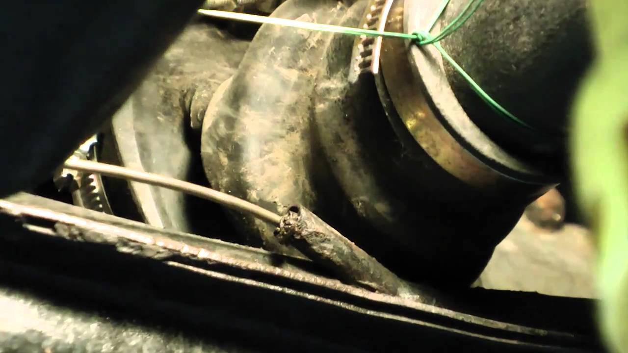 Classic VW Beetle Bug How to UnClog Drill Heater Tubes