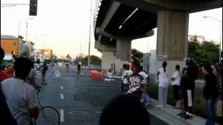 Bikes 4 Life bike race - West Oakland