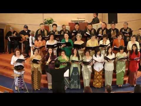 GKIN Amstelveen koor zingt : Aku Ra Kuwatir
