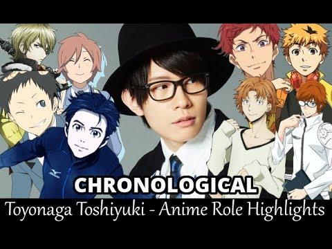 Toyonaga Toshiyuki - Anime Role Highlights [Eng Sub]