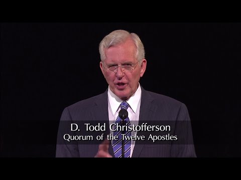 CES Devotional for Young Adults: D. Todd Christofferson (2014-09-14)