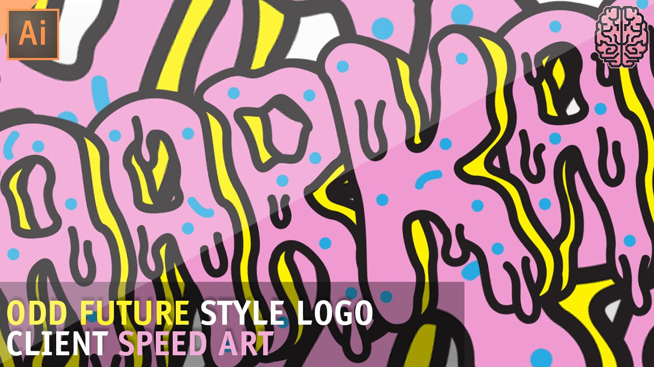 Speed Art Odd Future Style Logo By Qehzy Youtube