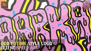 Speed Art: Odd Future Style Logo by Qehzy