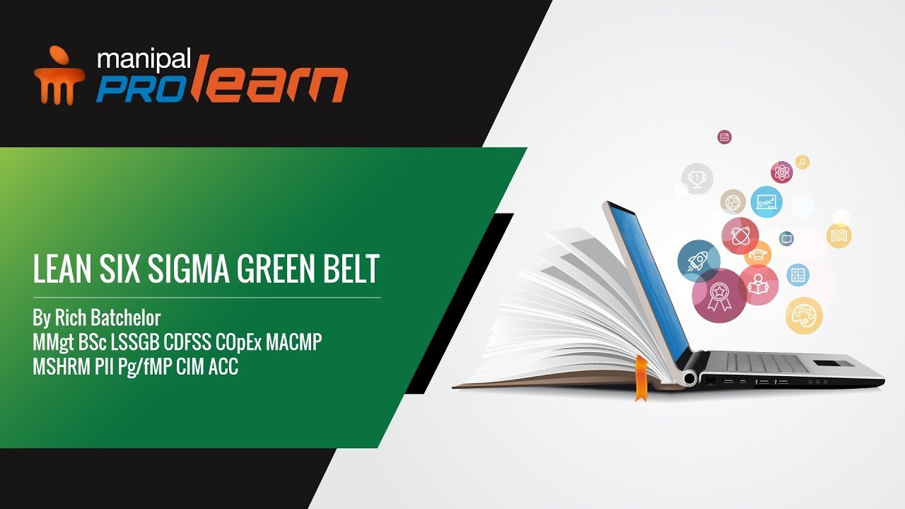 Lean Six Sigma Green Belt Training Manipal Prolearn Youtube