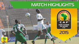 Senegal vs Nigeria | U-23 Africa Cup Of Nations, SENEGAL 2015