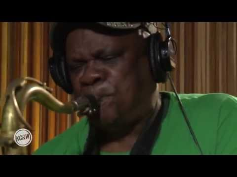 """Cymande performing """"The Message"""" Live on KCRW"""