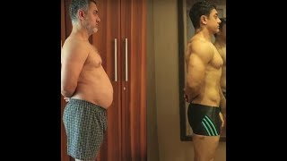 AAMIR KHAN AMAZING BODY TRANSFORMATION - PERFECTIONIST || AAMIR KHAN BODY MAKING FOR GAJNI