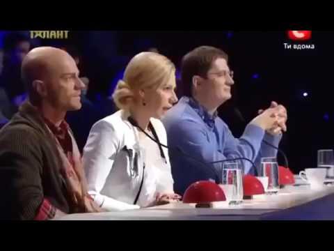 Видео, Пацан взорвал весь зал в  ukraine mae talant