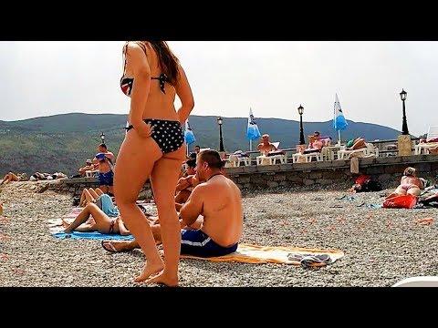 Голый пляж Нудисты голышом на пляжах мира